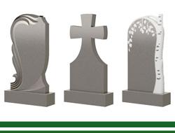 Мраморные памятники на могилу в Томске.