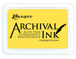 Архивные чернила Ranger Archival Ink Pad CHROME YELLOW