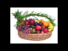 Корзина с экзотическими фруктами Панама