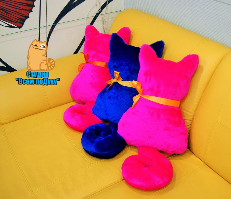 Игрушки подушки на диваны своими руками