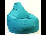 Кресло-груша XXL жаккард однотонный (цвет на выбор)