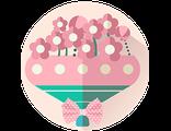 Получить или подарить ДЕТСКИЙ ВОЛШЕБНЫЙ БУКЕТ из Флауэрленда, создающий сказочное праздничное настроение (для девочки)