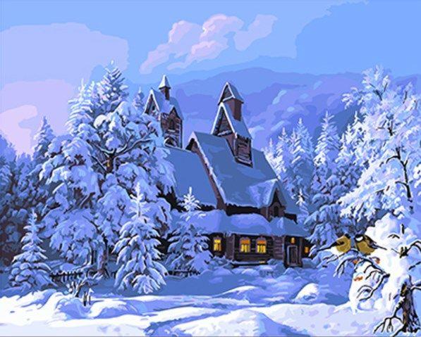 GX 4226 Дом под снегом