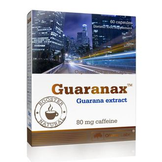 Olimp Guaranax (гуарана), 60 капсул