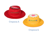 Двухсторонняя детская панама FlapJacks Одуванчик Арбуз