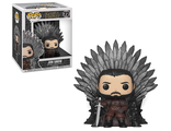 Фигурка Funko POP! Deluxe: Game of Thrones S10: Jon Snow on Thron