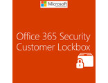 Microsoft Office 365 Customer Lockbox Add-On Shared Server SNGL Subs Open NL Annual to Exch