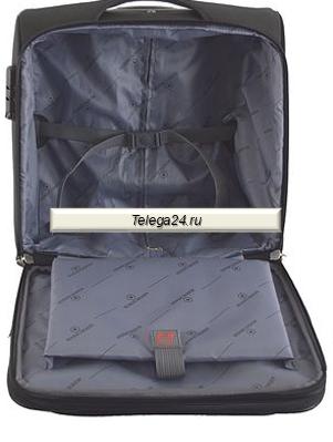 dc38370909bd Швейцарский чемодан кейс-пилот на 4 колёсах Swisswin синий - купить ...