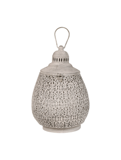 Фонарь LANTERN ORIENT GREY D24XH35.5CM IRON+GLASSарт.31801