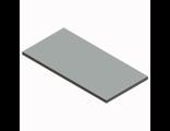 Полка ЛДСП 900х437мм. (серый)