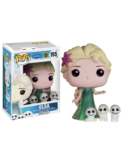 Funko POP! Disney: Frozen Fever - Elsa / Фанко поп! Дисней: Холодное сердце - Эльза и снеговички