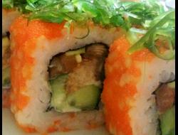 Ролл Красный Самурай. Суши бар Сушелия. Северодонецк. Доставка суши