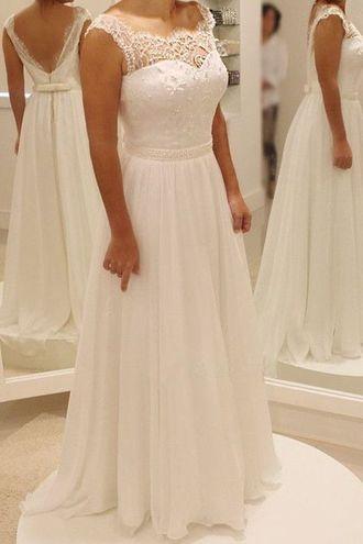 751a1d5a196 Модное свадебное платье больших размеров для полных красивого А-силуэта с  длинной не очень пышной