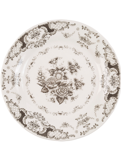 Десертная тарелка 200490 DESSERT PLATE CLOTHILDE GREY D20.5 EARTHENWARE
