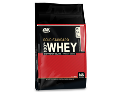 Optimum Nutrition 100% Whey Gold standard 10 lb (4540 гр)