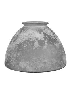 Ваза VASE ANDALOU GREY D30X20CM GLASSарт.32186
