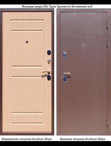Входная дверь Йошкар Ола Троя Аргентум Белёный дуб