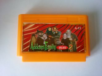 Картридж Dendy игра The Addams Family 2