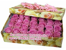 Розы Аква в коробке