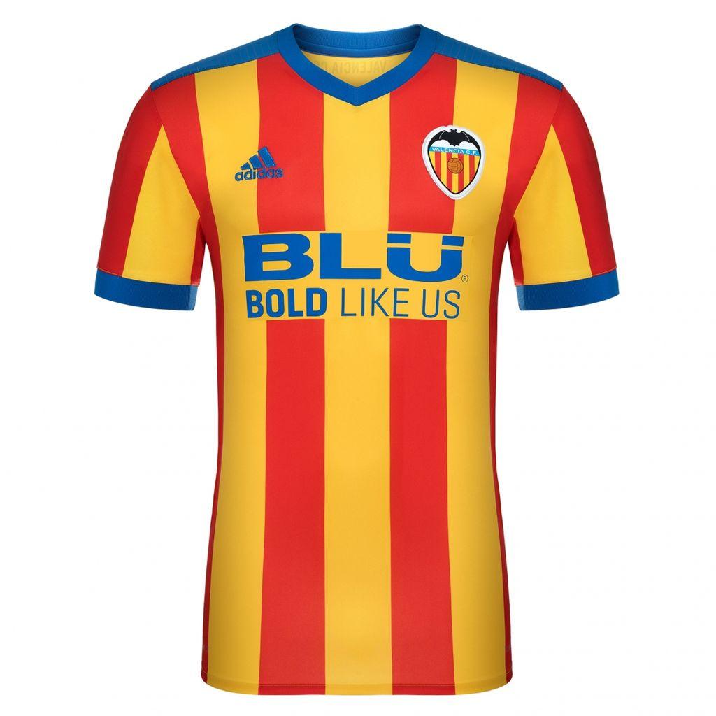 Купить футбольную форму Валенсия 2017 2018 гостевую для детей 38d30842b21