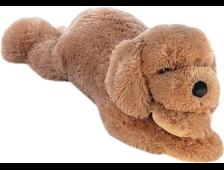 Мягкая игрушка собака сенбернар/ретривер 40 см
