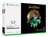 XBox One S 1TB (EUR)+Sea of Thieves (код загрузки)