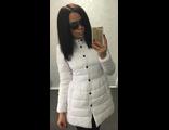 Женская весенняя куртка белая 002-033