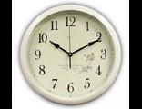 Часы настенные для дома B&S HR-371 W  (белый цвет)