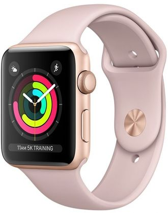 Apple Watch Series 3, 38mm Rose/Gold