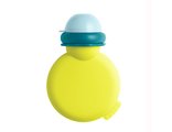 Силиконовая бутылочка для детского питания Beaba Babypote Neon Blue