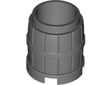 Container, Barrel 2 x 2 x 2, Dark Bluish Gray (2489 / 4218730)