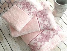 полотенца Pandora розовые