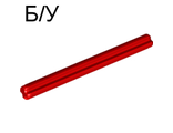 ! Б/У - Technic, Axle 6, Red (3706 / 4191526 / 6130002) - Б/У