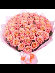Букет 59 роз Лайт