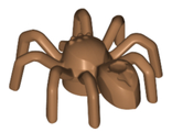 Spider with Elongated Abdomen, Medium Nougat (29111 / 6234805)