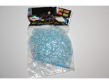 Резиночки прозрачно-голубые 600 шт