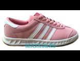 Кеды Adidas Hamburg розовые