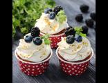 Фисташковые капкейки /  Pistachio Cupcakes