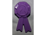 Friends Accessories Award Ribbon with Number 2, Lavender (92355f / 6150317)