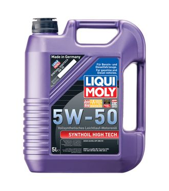 9068 Liqui Moly  Synthoil High Tech  5W-50 (5л.)