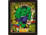 3D Постер Marvel Retro: Hulk