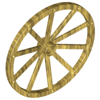 Wheel Wagon 56mm, Pearl Gold (33212 / 4625247 / 6282738)