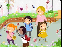 Выездная экскурсия в детский сад (школу)