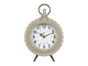 Часы настольные 200528 CLOCK GOUSSET TAUPE 21.5X5XH31CM IRON+GLASS