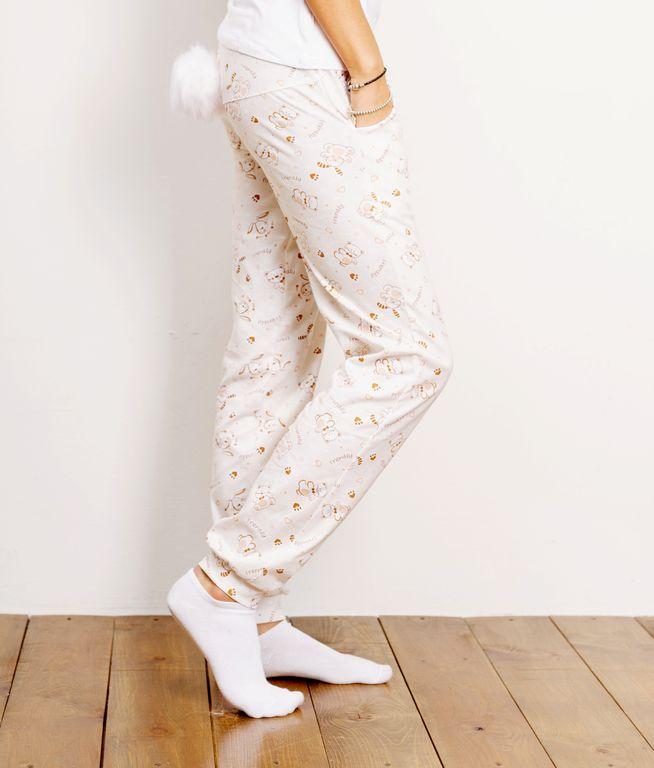 b439bf93951 Штаны с хвостиком на попе. Женская пижама с отстегивающимся хвостиком