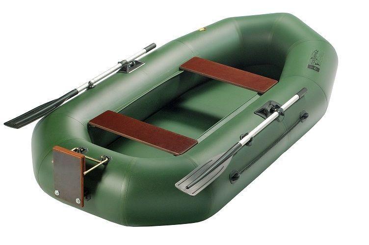 двухместная резиновая моторная лодка