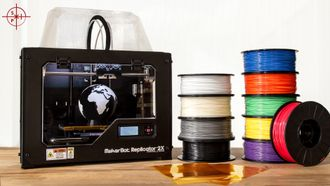 3D-принтеры, Makerbot, Replicator Mini, Replicator 2X, Replicator Z18, PLA пластик, ABS пластик