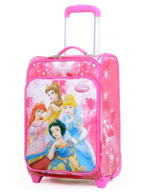 4a1ac0a52cfb Детский чемодан на 2 колесиках disney Princess - купить за 3 190 руб ...