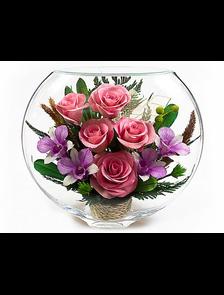 Цветы в стекле #4