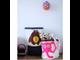 Корзина для хранения 3 Sprouts Розовый слонёнок Pink Elephant